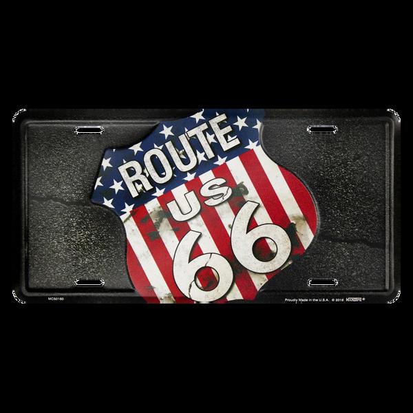 Bilde av Route 66 Flag Shield