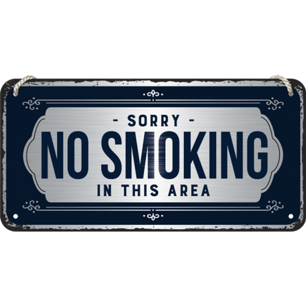 Sorry No Smoking