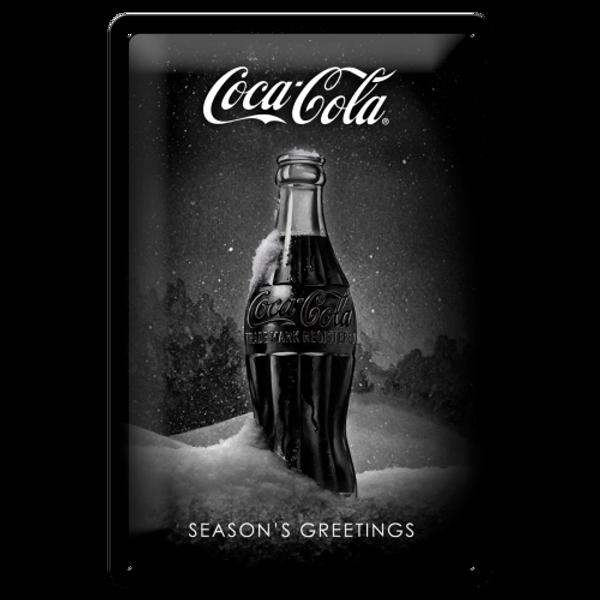 Bilde av Coca-Cola Snow Black Bottle