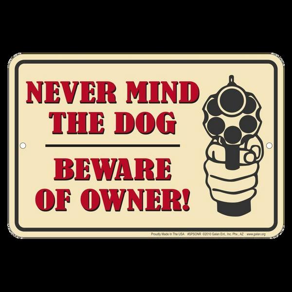Bilde av Beware of Owner