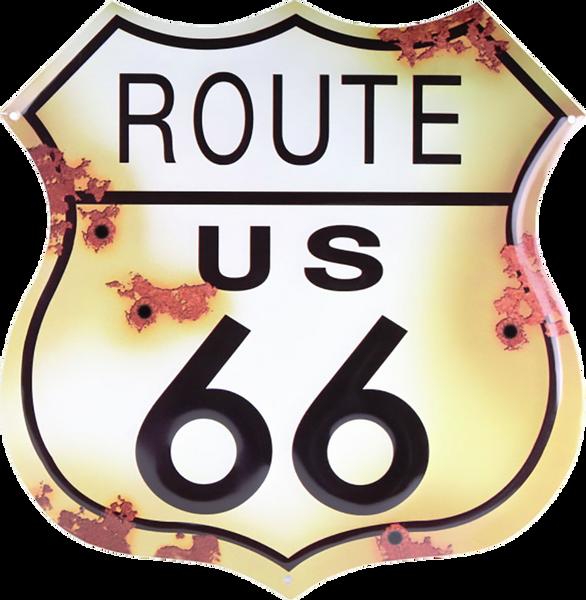 Bilde av Route 66 Shield Rustic Small