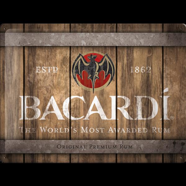 Bilde av Bacardi Wood Barrel Logo