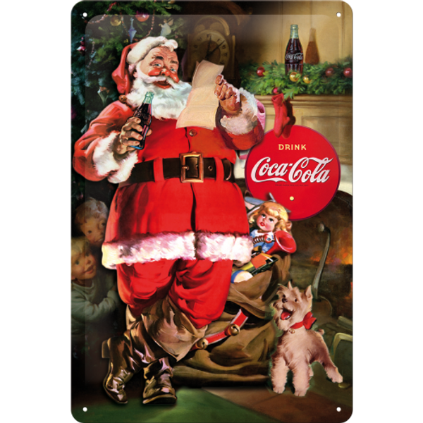 Bilde av Coca-Cola Classic Santa Collage