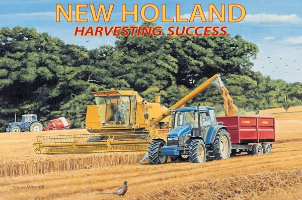 New Holland Harvesting