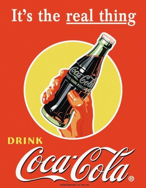Bilde av Coca-Cola It´s The Real Thing