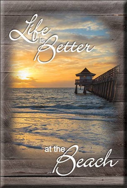 Bilde av Life is Better Beach