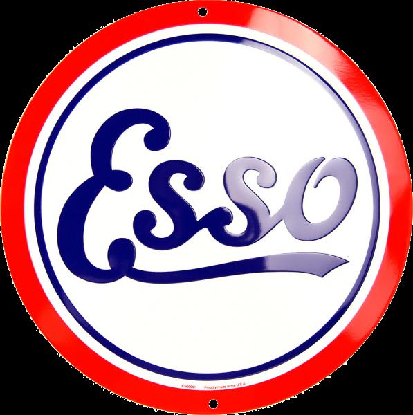 Bilde av Esso Gas Oil Round Small