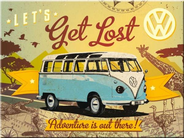 Bilde av Volkswagen Bulli Let's Get Lost