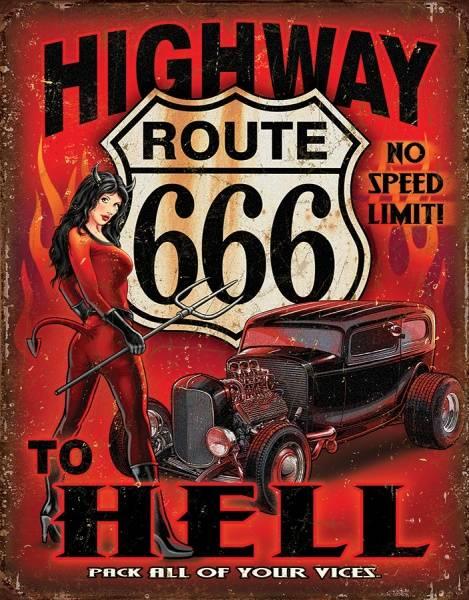 Bilde av Route 666 Highway To Hell