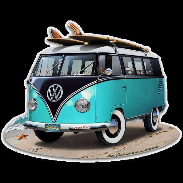 Bilde av Volkswagen Bus Turquoise