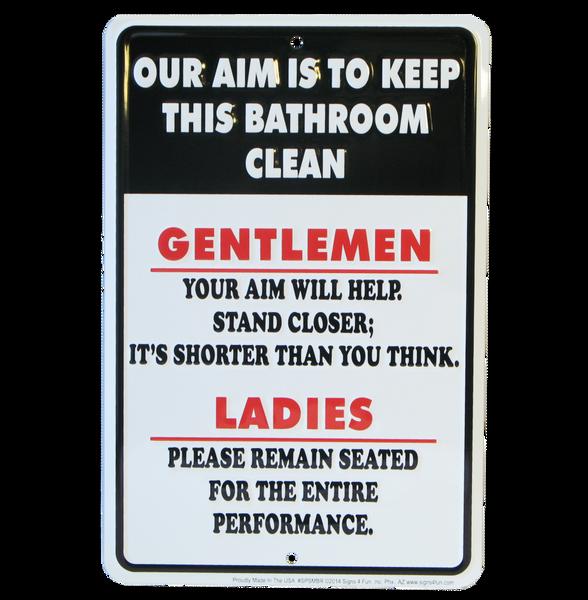 Bilde av Keep This Bathroom Clean