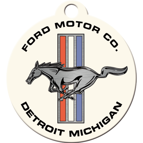 Ford Mustang Horse & Stripes Logo