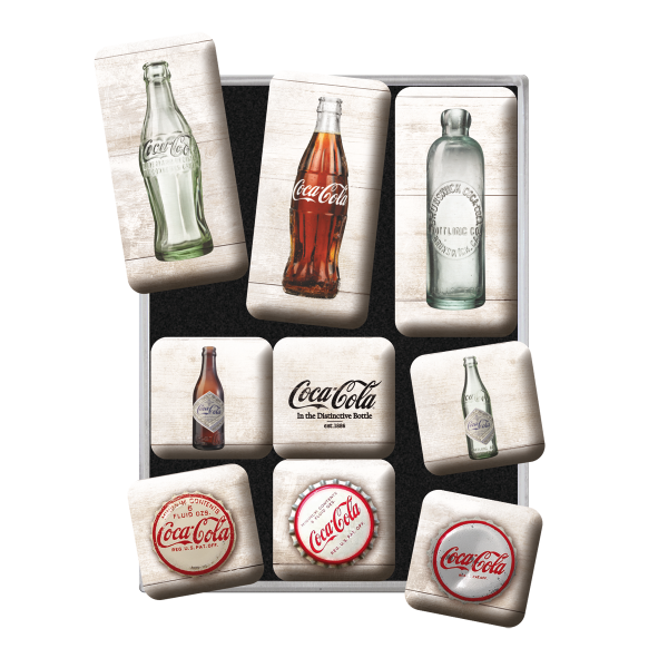 Bilde av Coca-Cola Bottle Timeline